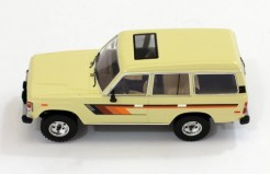 TOYOTA Land Cruiser (Scale 1/43) - Beige - 1982