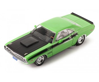 DODGE Challenger - T/A -1970 Green and Black