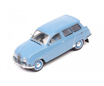 SAAB 95 1961 Grey Blue