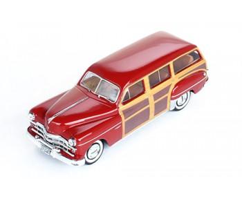 DODGE CORONET Woody Wagon 1949 Bordeaux