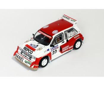 MG METRO 6R4 #23 - RAC Rally 1986