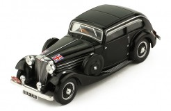 JAGUAR SS1 Airline Coupe #99 Light Sydney H. Rallye Monte Carlo 1935