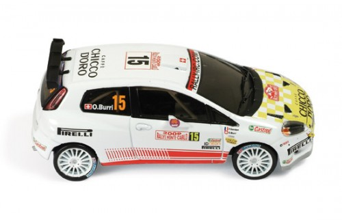 FIAT Abarth Grande Punto S2000 #15 - 7th Rally Monte Carlo 2009