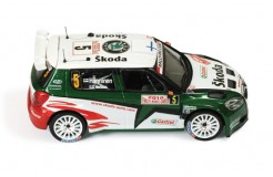 SKODA Fabia S2000 #5 - 2th Rally Monte Carlo 2010