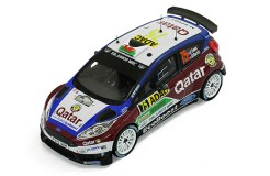 FORD FIESTA R5 #75 E.Evans - D.Barrit Rally Germany - 2013