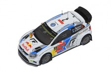 VW POLO R WRC #2 J-M.Latvala-M.Anttila Winner Sweden Rally 2014
