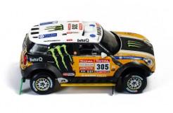 MINI ALL 4 RACING #305 J.Roma-M.Périn 2nd DAKAR 2012