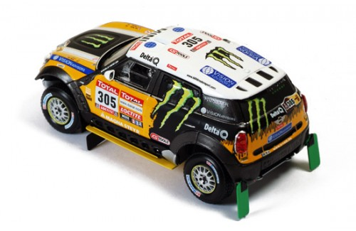 MINI ALL 4 RACING #305 J.Roma-M.Périn 2nd DAKAR 2012