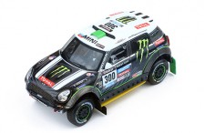 MINI ALL 4 RACING #300 S.Peterhansel-J.P.Cottret 2nd DAKAR 2014