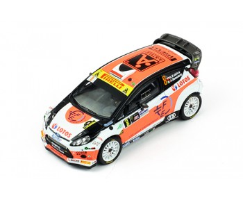 FORD FIESTA RS WRC #8 R.Kubica - A.Benedetti Winner Monza 2014