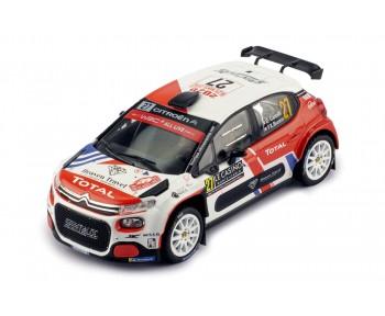 CITROËN C3 R5 #27 E. Camilli - F-X. Buresi Rallye Monte-Carlo 2020