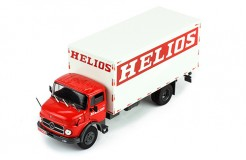 MERCEDES-BENZ L-1113 HELIOS 1970 RED/WHITE