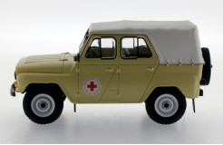 UAZ 469 BG Russian Medical Services - 1977