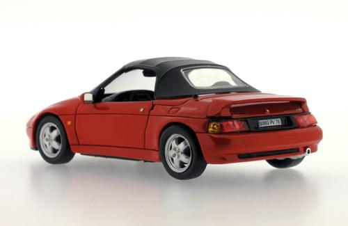 Lotus Elan M100 S2 - Red with soft top - 1994